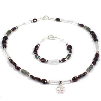 Garnet Garden Children's Jewelry