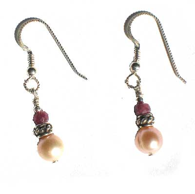 Pink Elegance Earrings