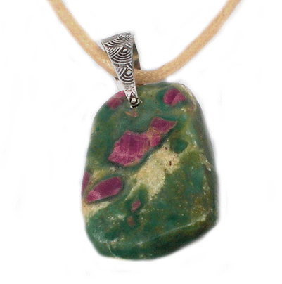 Ruby Forest Mothering Rocks Necklace