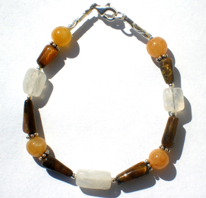 Twinkling Tiger Eye Baby Safe Bracelet