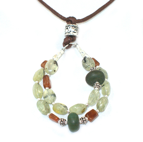Earth Mothering Rocks Nursing Necklace
