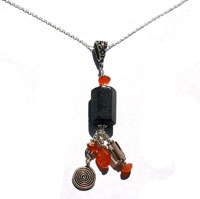 Pumpkin Harvest Pendant Necklace