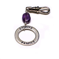 'Family' Key Chain FOB