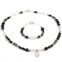Garnet Garden Children's Jewelry