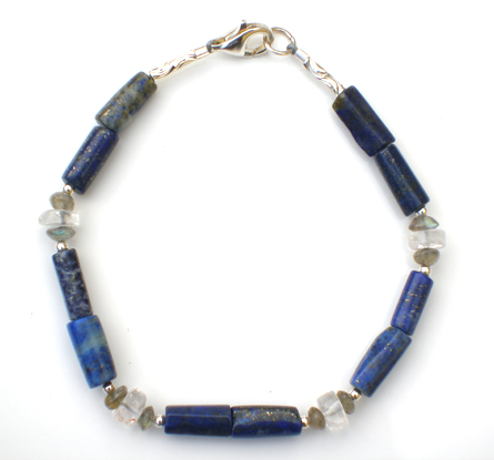 Lovely Lapis Baby Safe Bracelet