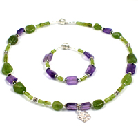 Purple Garden Children's Jewelry