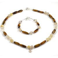 Twinkling Tiger Eye Children's Jewelry