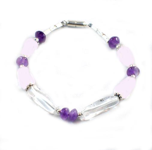 Violet Blossoms Baby Safe Bracelet